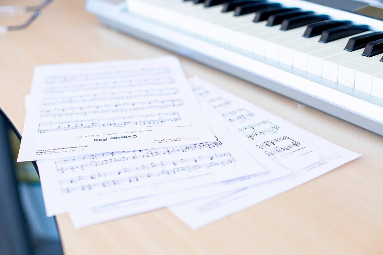 Júlia G. y Xavi C. - Transcriptores profesionales de música